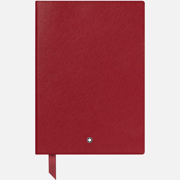 Carnet-146-Montblanc-Fine-Stationery---Rouge-avec-lignes