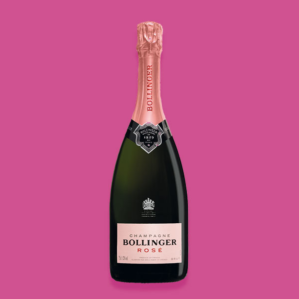 Champagne-Bollinger-Rosé - Suggestions pour une Saint-Valentin Gourmande