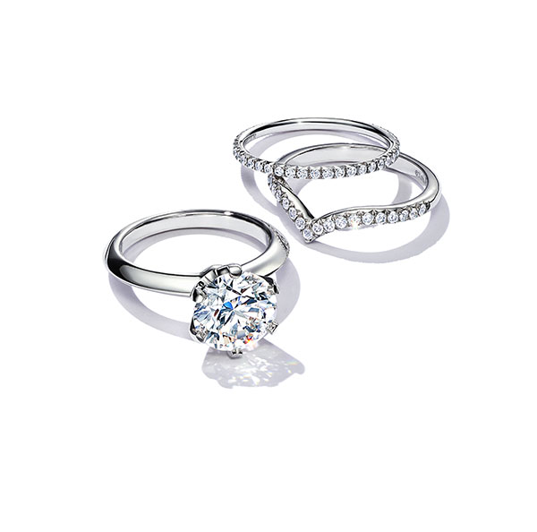 Engagement rings---Tiffany - best ladies gifts for Valentine's Day