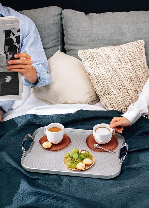 Nespresso----Gentleman of Coffee---Men-Bed