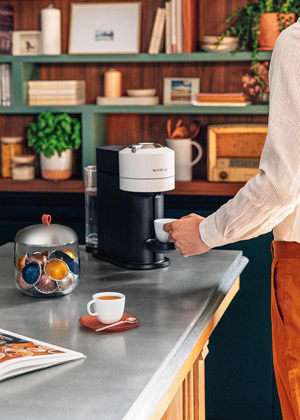 Nespresso----Gentleman of Coffee---Men-Vertuo