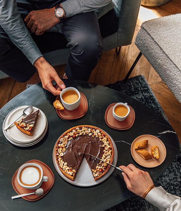 Nespresso----Gentleman of Coffee---Men-Watch