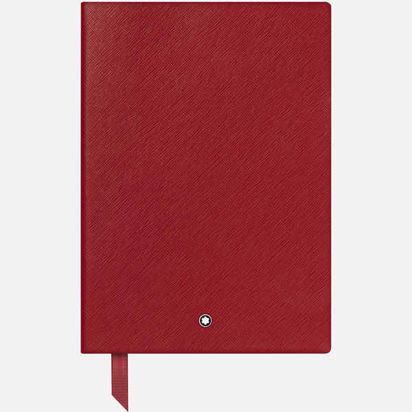 Notebook-146-Montblanc-Fine-Stationery---Red-with-lines