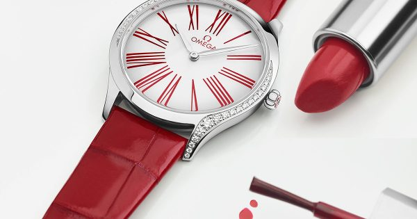 OMEGA----The best ladies gifts for Valentine's Day---Cover
