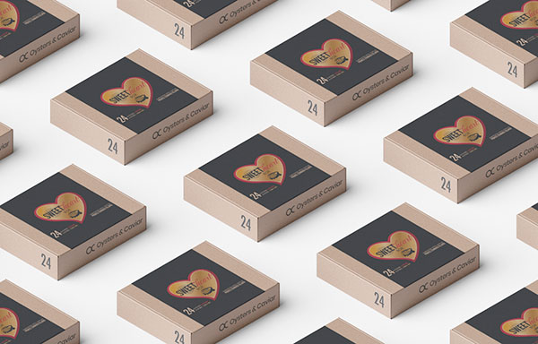 Sweetheart-Box-by-Oysters-and-Caviar - Suggestions for a Gourmet Valentine's Day