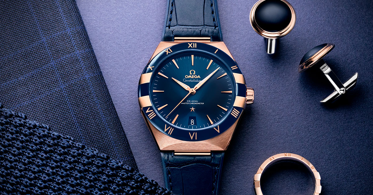The best gentleman gifts for Valentine's Day---OMEGA--Constellation