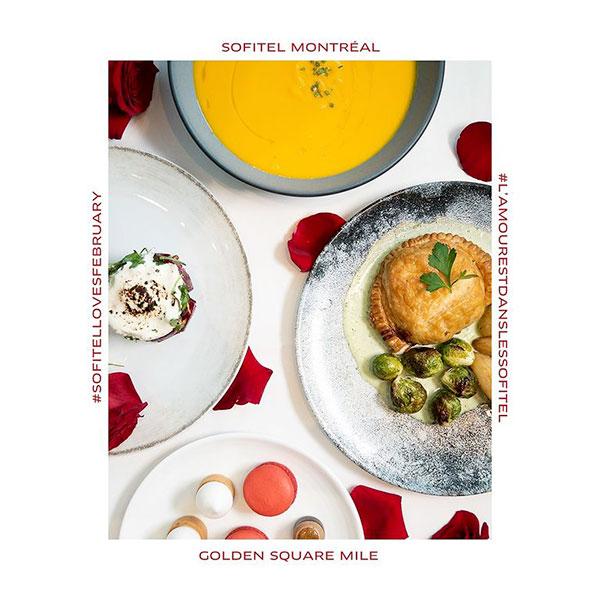 Valentine's-Day-Menu---Sofitel-Montréal-Restaurant-Renoir - Suggestions for a Gourmet Valentine's Day