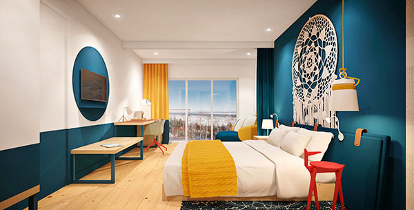 Club-Med-Quebec-Charlevoix---Chambre-Bleue