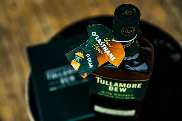 Tullamore D.E.W. ---Saint-Patrick---Bouteille