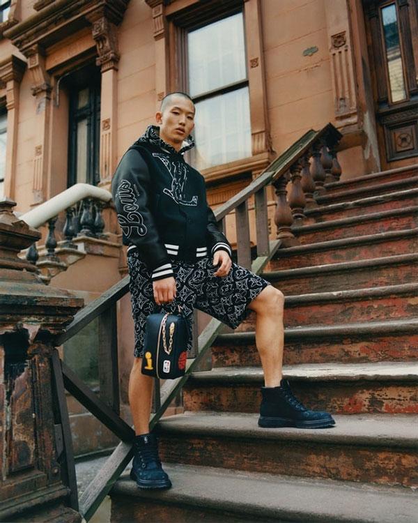 Coat-and-shorts---LV-x-NBA