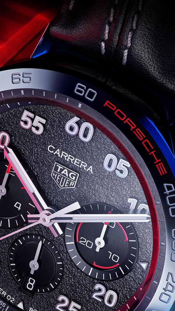 TAG-Heuer-Carrera-Porsche-Chronograph-dial