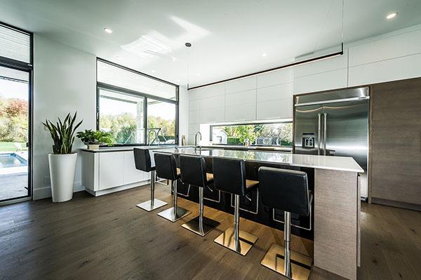White Kitchen by Fines Cuisine