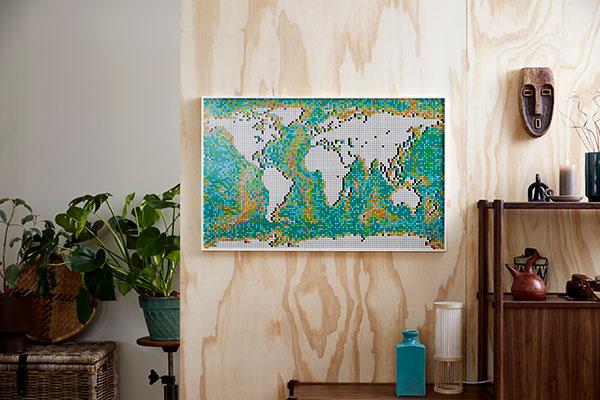LEGO---Worldmap