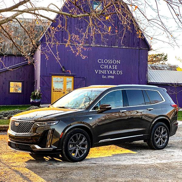 Cadillac-XT6---Vignoble-Closson-Chase-Vineyards