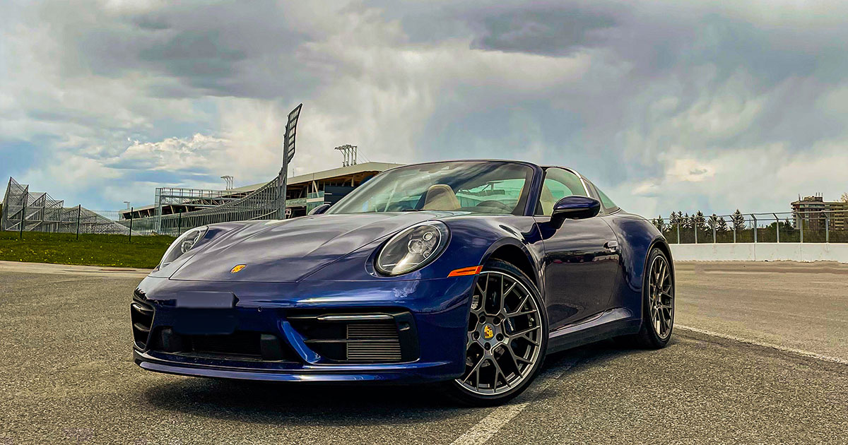 The-Porsche-911-Targa-4---Cover